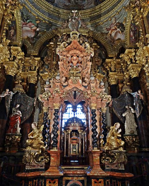 La Granada de Luneta: MONASTERIO DE CARTUJA - Sancta Sanctórum - Sacristía